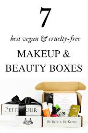 best vegan and free beauty box