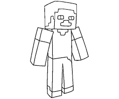 Free Coloring Pages For Girls Minecraft Cutouts Diamond Free