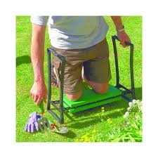 foldaway garden kneeler and stool