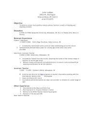 daycare teaching assistant resume science teacher ...