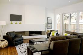 color schemes for living rooms with white walls