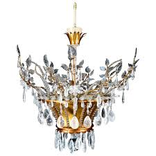 magnificent antique french louis xvi style bagues rock crystal chandelier for