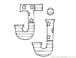 J Alphabet Coloring Page Pages Printable Pdf Precious Moments Free