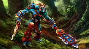 download wallpaper 1920x1080 huskar dota 2 art full hd 1080p hd