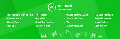 Another Word For Itinerary Is Wp Travel Wordpress Plugin Wordpress Org