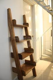 stair bookcase furniture. stylish natural color ladder type shelves with 4 layers stair bookcase furniture 5