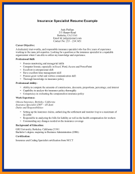 Insurance Agent Resume Examples Memo Example
