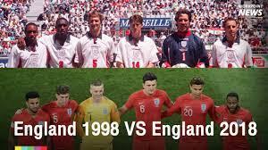 เปรียบเทียบ ทีมชาติอังกฤษ ฟุตบอลโลก 2018 กับ ฟุตบอลโลก 1998 - workpointTODAY