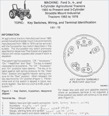 ford tractor ignition switch wiring diagram sportsbettor me Diesel Tractor Ignition Switch Wiring Diagramwith Colors motor 3400 ignition switch wiring yesterdays tractors all diesel