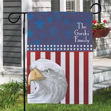 personalized patriotic garden flag patriotic gifts