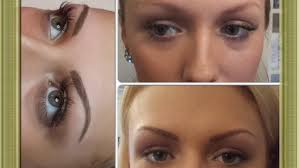 blonde eyebrows after healing