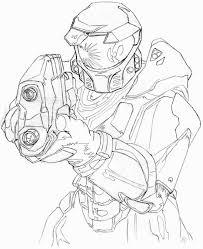 Small Picture Master Chief Coloring Pages Coloring Pages Pinterest Master