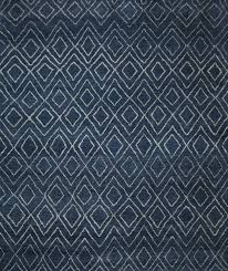 inspiration house exciting rugsville moroccan beni ourain double diamond wool navy rug 37024 with regard
