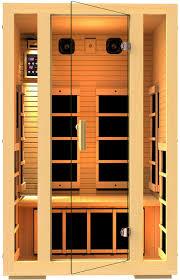 2 person infrared sauna. Interesting Infrared Amazoncom  JNH Lifestyles 2 Person Far Infrared Sauna 7 Carbon Fiber  Heaters Garden U0026 Outdoor On D