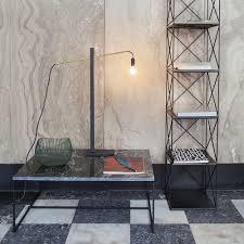 Buy Serax Metal Flamingo Lamp Blackbrass 73cm Amara