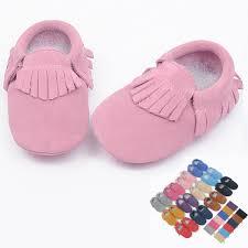 suede Genuine <b>Leather</b> soft <b>baby shoes newborn</b> Toddler <b>baby</b> ...