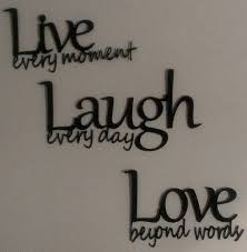 Live Love Laugh Quotes Extraordinary Metal Wall Decor Live Laugh Love Lovely Live Love Laugh Quotes