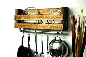 diy hanging pot rack pot