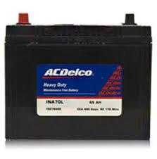Ac Delco Ina40b20lbh Battery