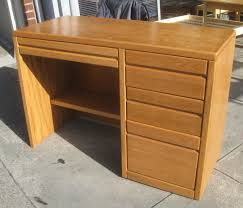 sold oak student desk 40