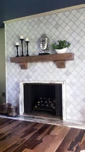 Tile Fireplace Makeover 25 Best Fireplace Images On Pinterest Slate Tiles Fireplace