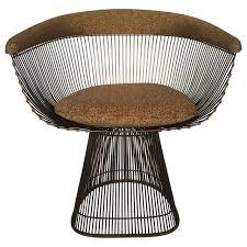 platner furniture. Warren Platner Bronze Wire Dining Chairs 2 Furniture L
