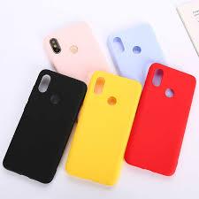 <b>Candy Color TPU Silicone</b> Case For Xiaomi Redmi 5 5A 6 6A 7 7A 8 ...