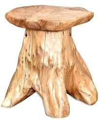 stump tables tree dining table uk furniture diy wood top