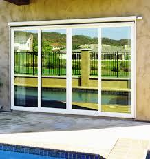 exterior view sliding glass door