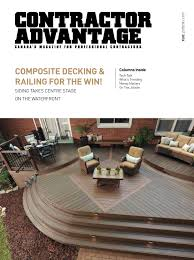 Canexel Design Centre Contractor Advantage July August 2016 By Espress Labs Inc