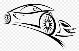 car outline logo. Plain Car Sports Outline Car Png Clipart  Logo Vector For I