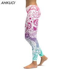 Plus Size Patterned Leggings