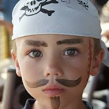 pirate makeup 50 pretty and y makeup ideas for kids 09