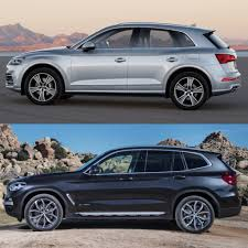 2018 audi vs bmw.  2018 from the outside itu0027s immediately obvious that new bmw x3 is more  muscular looking than audi q5 the former has an aggressive shoulder line  in 2018 audi vs bmw 2