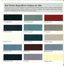 1965 Pontiac Color Chart Used 1965 Pontiac Gto For Sale 54 900 Marino