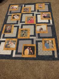 Best 25+ Memory quilts ideas on Pinterest | Shirt quilts, Photo ... & Have you ever made a photo quilt? What a heartwarming and fun idea.  Fantastic Adamdwight.com