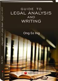 writing analysis guide to legal analysis writing lexisnexis singapore store