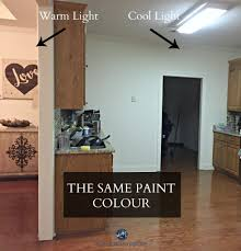 Paint Colors For Fluorescent Lighting How Fluorescent Light Affects Paint Colour Paint Colors