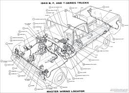1963 ford truck wiring diagrams fordification info the '61 '66 1971 ford f100 ignition switch wiring diagram at Ford Pickup Wiring Diagrams