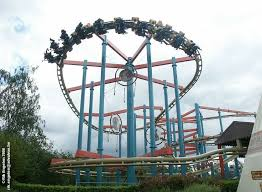 Dream Catcher Ride Roller Coaster BUZZ Behemoth photo from Canada's Wonderland 98