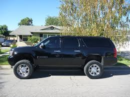 Lifted Chevy » Lifted Chevy Trucks » 2008 Suburban 1500 LTZ 4X4 W ...