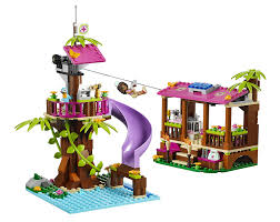 How To BuildLego 3065  Friends Oliviau0027s Tree House Friends Lego Treehouse