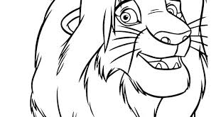 And Scar Coloring Pages Lion King His Son The Baby Simba Books For