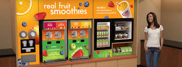 Smoothie Vending Machine Inspiration Vending Machines Get A Revamp