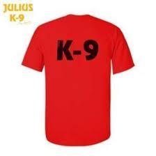 Julius K9 Size Chart Julius K9 Polo Shirt Red Size L