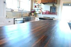 beautiful wood countertop sealer for sealing wood countertop the smooth matte finish on butcher block island