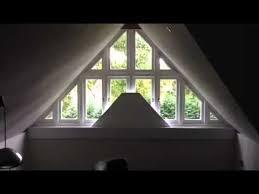 Triangle Bottom Up Shade  YouTubeBlinds Triangular Windows