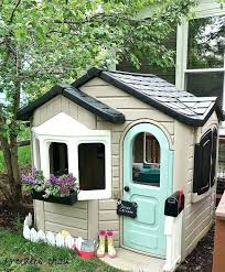 childrens outdoor playhouse freckles playful little playhouse a plastic outdoor childrens outdoor playhouse plans