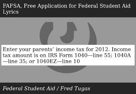 Enter Your Parents Income Tax For 2012 Income Tax Amount Is