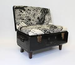 recreate furniture. black trunk suitcase chair u2013 furniture products recreate httpwww